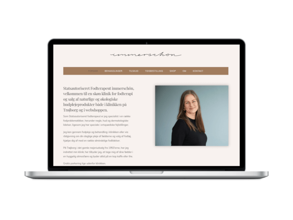 Fodterapeut - Ny hjemmeside