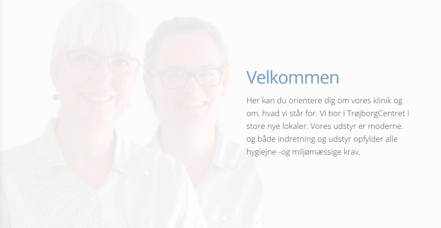 Ny hjemmeside til tandlæge