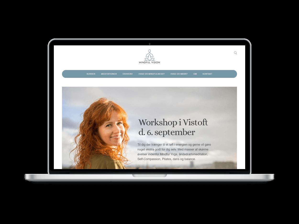 Mindfulness hjemmeside